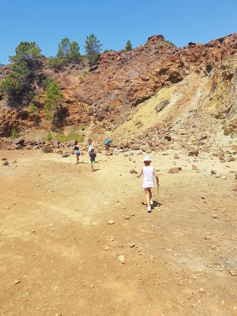 isola d'elba- gita in miniera